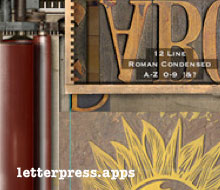LetterMpress iPhone and Mac app